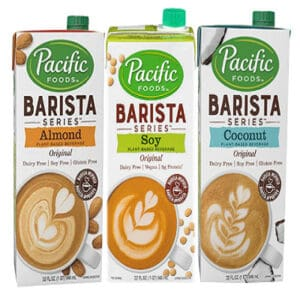 Pacific Foods Barista Series: Almond, Soy and Coconut