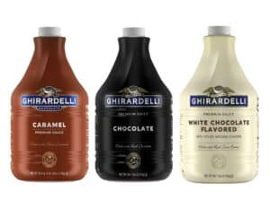 Ghirardelli Sauces: Caramel, Chocolate and White Chocolate
