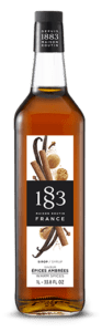 1883 Warm Spices Syrup